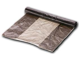 VERBANDWAGENBEUTEL HDPE  180/120 x 380 mm, opak grau, 10 lt, 8 my