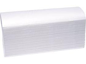 FALTHANDTUECHER 2-LAGIG  100% Zellstoff, hochweiss, Z-falz,