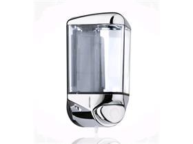 SEIFENSPENDER  transparent, mit Chromdeckel, 0.55 lt