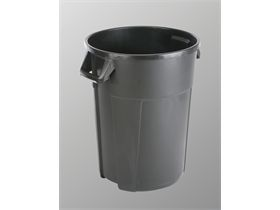 VILEDA ABFALLEIMER  Titan - 120L Behälter, schwarz, 55x63x72