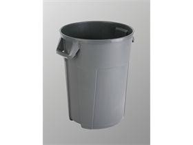 VILEDA ABFALLEIMER  Titan - 120L Behälter, grau, 55x63x72 cm