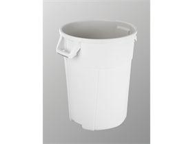 VILEDA ABFALLEIMER  Titan - 120L Behälter, weiß, 55x63x72 cm